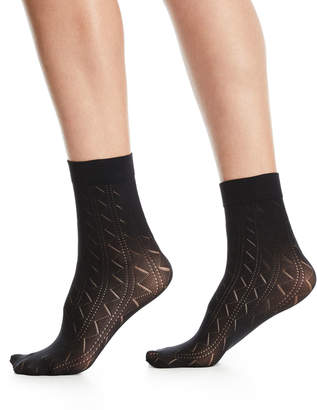 Wolford Florence Zigzag Ankle Socks