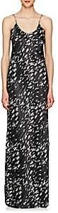Nili Lotan Women's Silk Satin Gown - Black