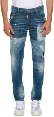 DSQUARED2 Washed Skater Jeans