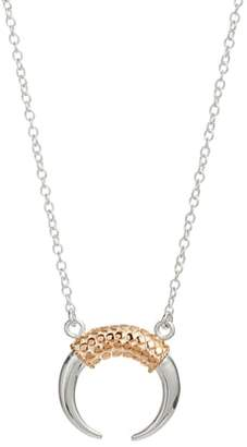 Anna Beck Rose Gold Horn Necklace