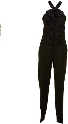 Givenchy Halter Bow Jumpsuit