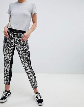 Parisian Skinny Festival Jeans in Sequins