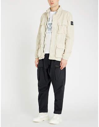 Belstaff Bantham high-neck shell jacket