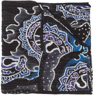 Pleats Please Issey Miyake micro pleated scarf