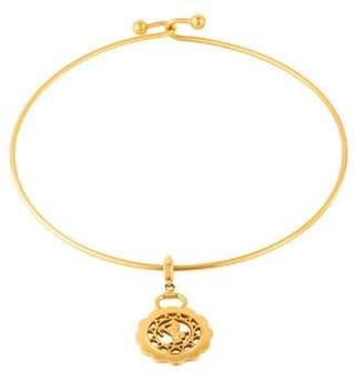 Hermes Horse Medallion Choker Necklace