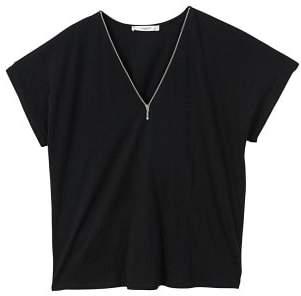 MANGO Zip t-shirt