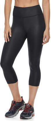 Fila Sport Women's SPORT Shiny High-Waisted Capri Leggings