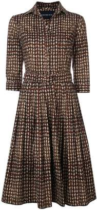 Samantha Sung Audrey checked dress