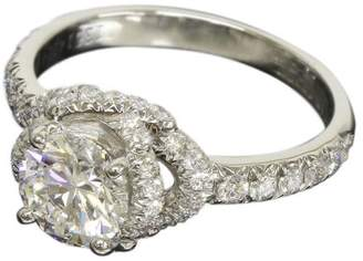 Chaumet Lien de Platinum 0.70 Ct Diamond Ring Size 3.75