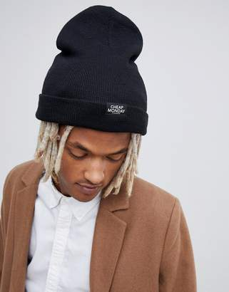 Cheap Monday Logo Beanie In Black