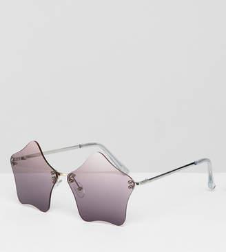 Asos DESIGN Star Novelty Sunglasses
