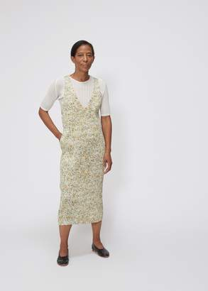 Pleats Please Issey Miyake Funfetti Print Front to Back Dress