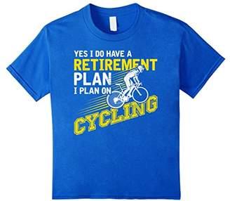 I Plan On Cycling - Funny Cycling Gift T Shirt