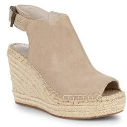 Kenneth Cole New York Ory Platform Wedge Leather Espadrille