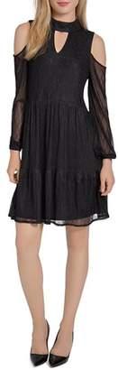 Lysse Cold-Shoulder Lace Dress