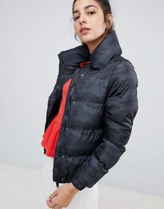 Brave Soul camo padded jacket