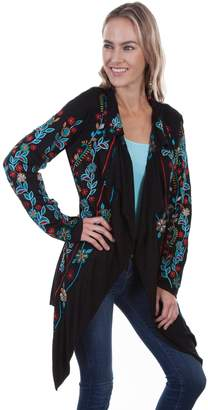 Scully Embroidered Floral Jacket