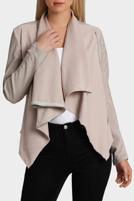 Blank NYC Taupe Jacket