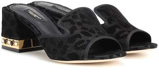 Dolce & Gabbana Leopard-printed sandals
