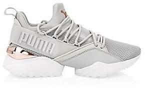 Puma Women's Women's Muse Maia Metallic Sneakers