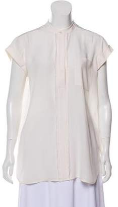 Vince Silk Short Sleeve Top