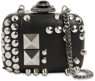 Alexander McQueen MINI STUDDED LEATHER CLUTCH