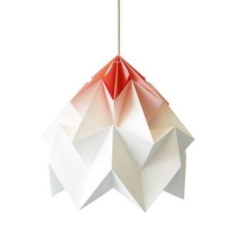 Moth Studio Snowpuppe Shaded XL Hanging Lamp