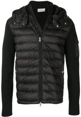Moncler zipped hooded vest