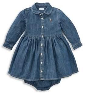 Ralph Lauren Baby Girl's Denim Shirtdress