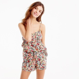Camisole pajama set in Liberty® Thorpe floral $98 thestylecure.com