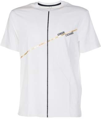 Armani Collezioni Minimal Foil Lines T-shirt