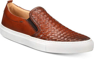 Kenneth Cole New York Men's Grifyn Weave Leather Slip-Ons Men's Shoes
