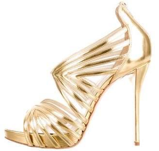 Oscar de la Renta Leather Bree Sandal w/ Tags