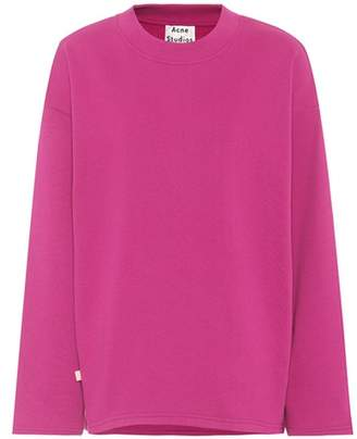 Acne Studios Karvell U Fleece cotton sweatshirt