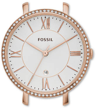 Fossil Jacqueline Rose-Tone Stainless Steel Watch Case