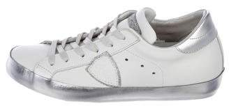 Philippe Model Glittered Low-Top Sneakers