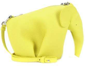 Loewe Elephant Mini leather shoulder bag
