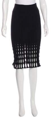 Derek Lam Knit Knee-Length Dress