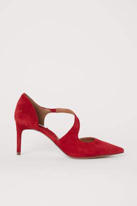H&M Suede Pumps - Red