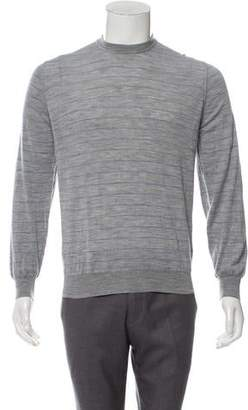 Brunello Cucinelli Wool and Cashmere-Blend Striped Sweater