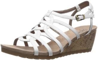 LifeStride Women's Neva Wedge Sandal