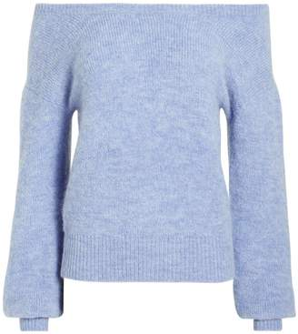 Intermix Sabina Off Shoulder Sweater