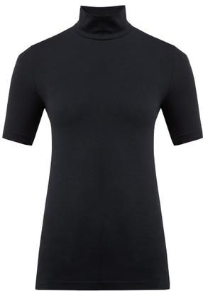 Wolford Roll Neck Shirt - Womens - Black