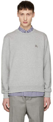 Burberry Grey Logo Gateley Sweatshirt