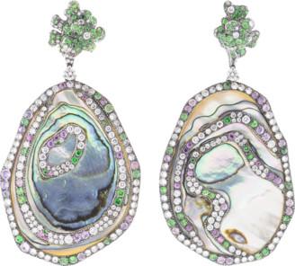 Arunashi Abalone Shell Earrings
