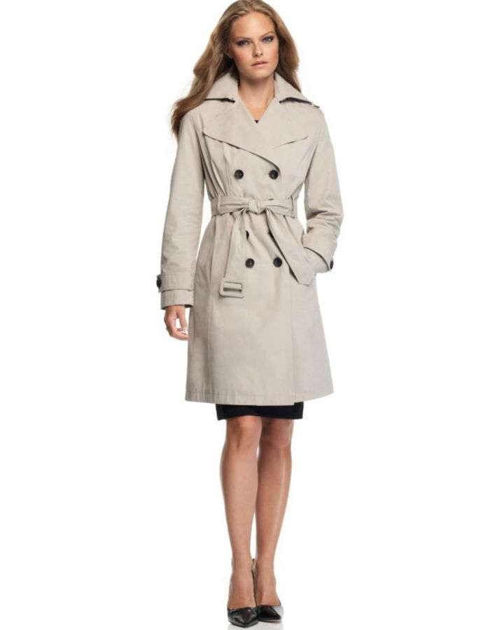 Calvin Klein Trench Coat, Belted