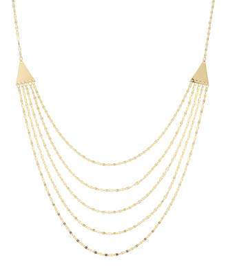 Kohl's 14k Gold Forzatina Chain Swag Necklace
