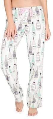 PJ Salvage Sip Sip Hooray Flannel Pyjama Pants