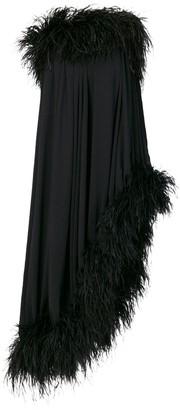 Saint Laurent off-the-shoulder dress
