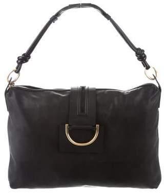 Diane von Furstenberg Tavle Leather Hobo